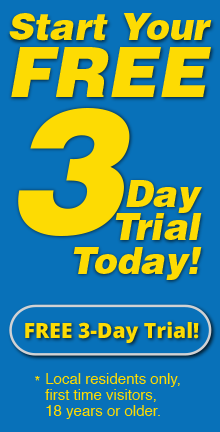 24-7 Gym and Fitness in Beavercreek 3-day trial